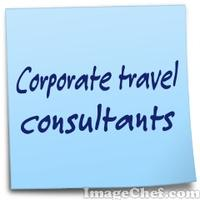 Corporate travel consultants