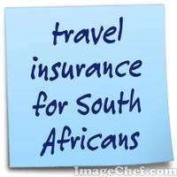 travel insurance for South Africans