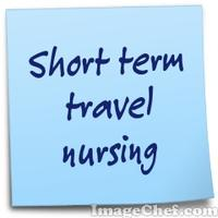 Short term travel nursing