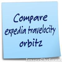 Compare expedia travelocity orbitz