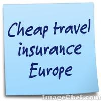 Cheap travel insurance Europe