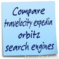 Compare travelocity expedia orbitz search engines