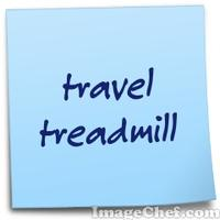 travel treadmill