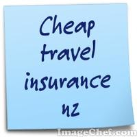 Cheap travel insurance nz