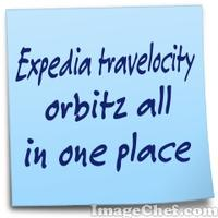 Expedia travelocity orbitz all in one place