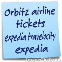 Orbitz airline tickets expedia travelocity expedia