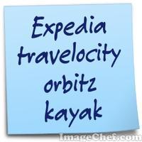 Expedia travelocity orbitz kayak