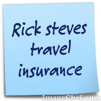 Rick steves travel insurance