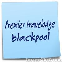 Premier travelodge blackpool