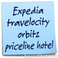 Expedia travelocity orbitz priceline hotel