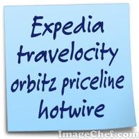 Expedia travelocity orbitz priceline hotwire