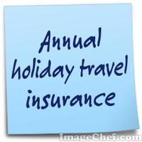 Annual holiday travel insurance