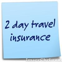2 day travel insurance