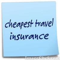 cheapest travel insurance