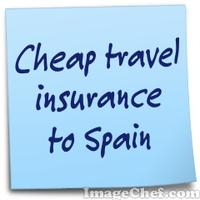 Cheap travel insurance to Spain