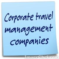 Corporate travel management companies