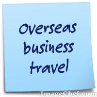 Overseas business travel