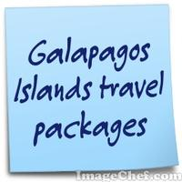 Galapagos Islands travel packages
