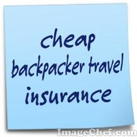 cheap backpacker travel insurance