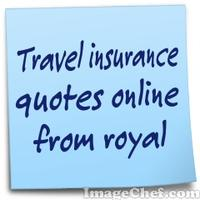 Travel insurance quotes online from royal