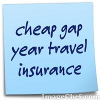 cheap gap year travel insurance
