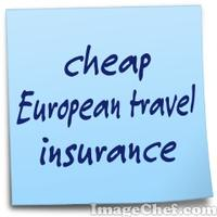 cheap European travel insurance