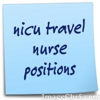 nicu travel nurse positions