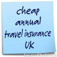 cheap annual travel insurance UK
