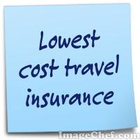 Lowest cost travel insurance
