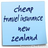 cheap travel insurance new zealand