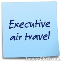 Executive air travel